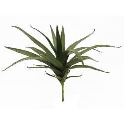 Umělá rostlina jako živá - Aloe Vera k zapíchnutí, zelená, 50 cm