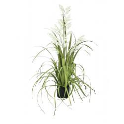Bílé zvonky v trávě, 105cm
