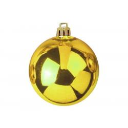 Vánoční dekorační ozdoby, 10 cm, zlaté, 4 ks