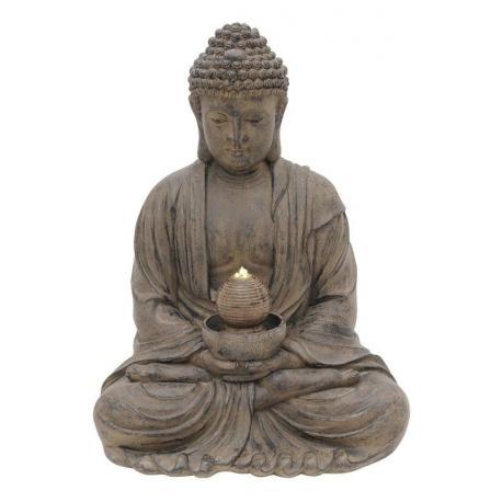 Fontána osvíceného Budhy