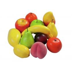 Dekorativní umělé ovoce - mix 12 kusů