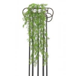 Dekorativní umělá korálová tráva, interiér / exteriér, zelená, 78 cm